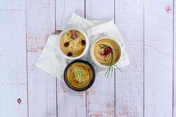 Tris di Hummus Veg - Appetizers