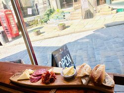continental breakfast board