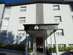 Vista para o Hotel.