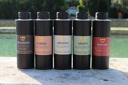 Une sélection des huiles Bastide du Laval