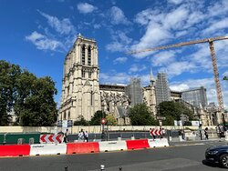 Sad to see the Notre Dame like this, but it'll be back and so will we!