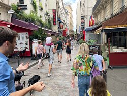 The walk to Shakespeare and Company bookstore.  Skip this if you have kids visiting Paris for the first time.  It's neat, but it's just a bookstore and you have those where you live.