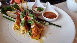 Shrimp Satay .. yummy!
