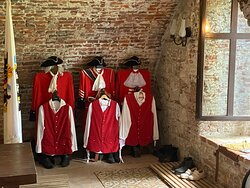 Uniforms of the guard ...