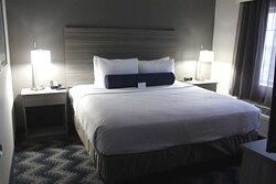 Separate Bedroom King Suite