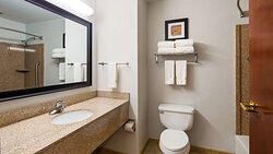 Single King Guest Bathroom