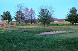 Golf Course Winter Season Green