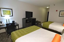 Double Queen Mobility Accessible Guest Room