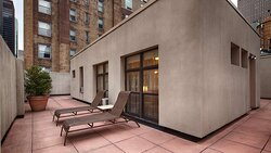 Two Bedroom Penthouse Terrace
