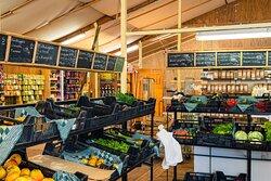 Verse groenten uit de Streekwinkel
