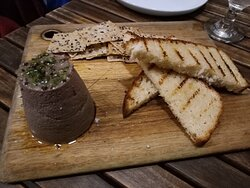 Pate with sides