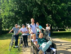 The Royal Garden and Rosenborg Castle is a favorite among our customers