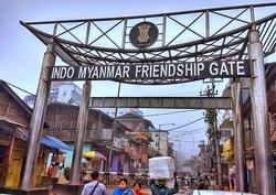 Indo Myanmar Friendship Gate, Moreh