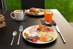 Herzhafte Frühstücksauswahl
