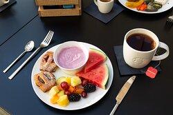 Süße Frühstücksauswahl