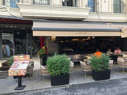 Street view of the restaurant