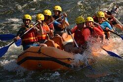 Rafting no rio Minho com a Whitewater