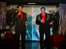 Denny Yeary & Trey Dees at the Dean Martin & Friends Celebrity Tribute Show!