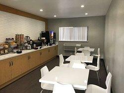 Newly Renovated Breakfast Room