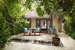 Sunset Beach Villa outdoor seating area