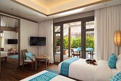 Two Bedroom Family Villa twin room