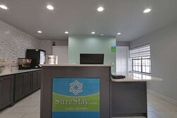 A warm welcome awaits you at SureStay Hotel by Best Western Calhoun South.
