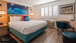 Standard King, ADA Accessible King & Whirlpool King Bed Room