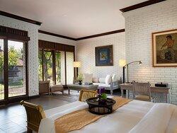 The Hadiprana Estate Master Bedroom Sofa Area