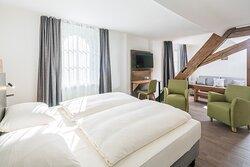 Doppelzimmer mit Schlafcouch