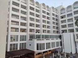 Vistas del hotel desde la habitación 306