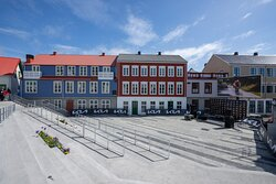 The new square in Selfoss Centre