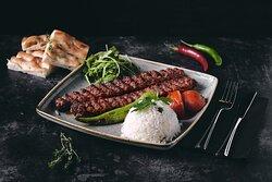 One of the best sellers; Selale Kebab.