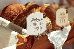 Every day we sell a range of traditional European breads, freshly baked daily from scratch.  Alongside home made breads, we also serve all-day breakfast menu, pastries and many other bread-based products.  We are loved by our customers for our authentic taste and the homey ambiance in our shops. We strive to provide the best bread experience to our beloved customers.  ⠀⠀