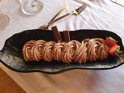 Mousse de Chocolate Kit Kat