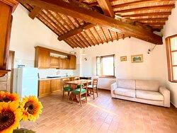 Soggiorno/Cucina Appartamento Girasole Piano Primo