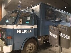 Militia vehicle used during martial law.