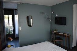 Chambre 22m2, avec patio privé