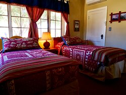 Cozy, historic accommodations.