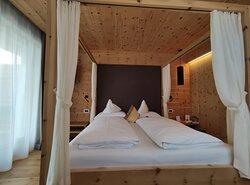 Camera Matrimoniale con giardino e sauna infrarossi