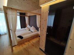 Camera matrimoniale Deluxe con sauna ad infrarossi