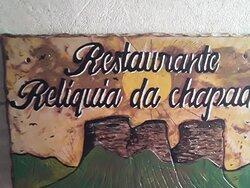 Restaurante Relíquias Chapada