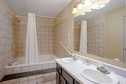Bathroom in the Executive King Suite