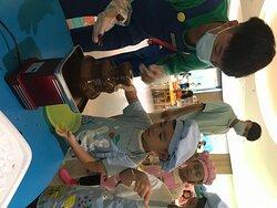 儿童乐园的丰富活动