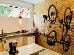 Nossos lofts são equipados para seu conforto. Com um design descolado e industrial