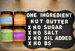 """Commercial almond butters are tasty, spreadable and have a long shelf-life. But is there any junk in the jar? Well Shelf life = preservatives. Not going to preserve your body. Flavour enhancers = salt, sugar, MSG, the """"face bloat"""" additive. Spreadability = extraneous oils. Usually chemically stabilized and worsen the product's lipid profile. Try honest, one-ingredient almond butter and see why shelf life is a non-issue - because a jar of the real thing is eaten long before the question ever aris"""