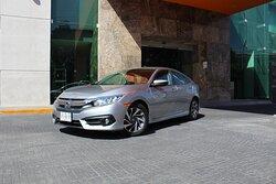 Honda Civic capacidad 2 pasajeros
