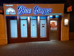 The nrw BLUE GINGER in walsall town