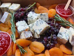 No blue days when bleu cheese is involved!