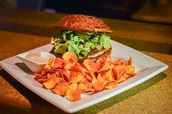 hamburguesa de borrego