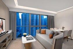 Living Room Of Two Bedroom Deluxe